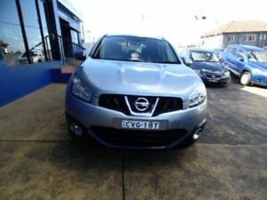 2012 Nissan Dualis J10 Series 3 +2 TI-L (4x2) Silver 6 Speed CVT Auto Sequential Wagon Five Dock Canada Bay Area Preview
