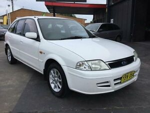 2002 Ford Laser White Manual Hatchback Boolaroo Lake Macquarie Area Preview