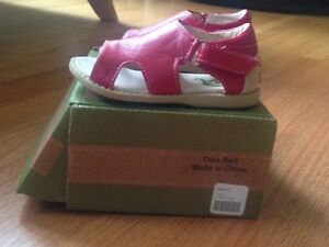Livie & Luca size 5 (toddler) red sandals in red - NEW