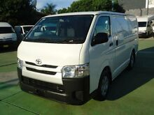 2014 Toyota Hiace TRH201R MY14 LWB White 4 Speed Automatic Van Canada Bay Canada Bay Area Preview
