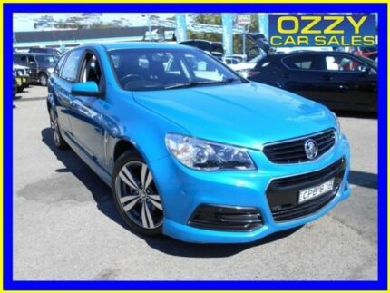 2013 Holden Commodore VF SV6 Blue 6 Speed Automatic Sportswagon