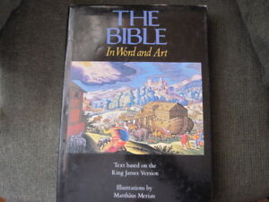 Bible illustrated on each page