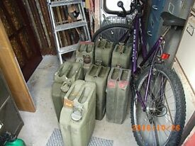 5 JERRY CANS