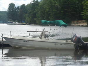Used 1982 Other kmv 18' boston whaler style boat, norweigen design
