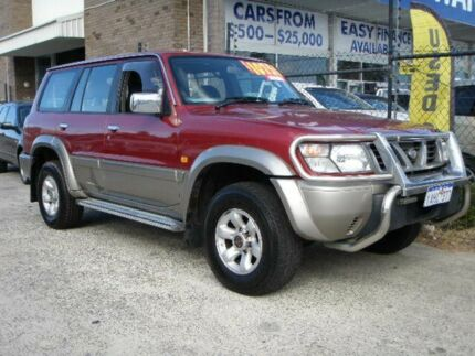 1998 Nissan Patrol GU TI (4x4) Burgundy 4 Speed Automatic 4x4 Wagon Wangara Wanneroo Area Preview