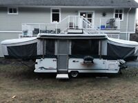 Coleman Tent Trailer (Largest one you will ever see!)