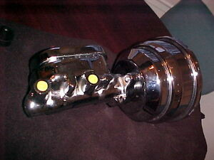 "Single Diaphragm 7"" Universal Chrome BrakeBooster/MasterCylinder London Ontario image 3"