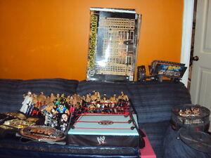 WWF Wrestling Items