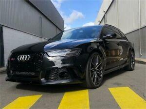 2018 Audi RS6 4G MY18 performance Avant Tiptronic Quattro Black 8 Speed Sports Automatic Wagon Auburn Auburn Area Preview
