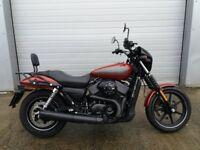 Harley Davidson Street 750 . Excellent Urban Cruiser A2 liscence compliant