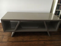 habitat gloss grey tv unit for sale cost upwards of £200 looking for £150 ONO