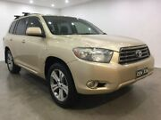 2009 Toyota Kluger GSU40R KX-S 2WD Beige 5 Speed Sports Automatic Wagon Blacktown Blacktown Area Preview