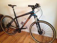 2014 Kona Big Kahuna 29er carbon Mtn. bike mint,new condition.
