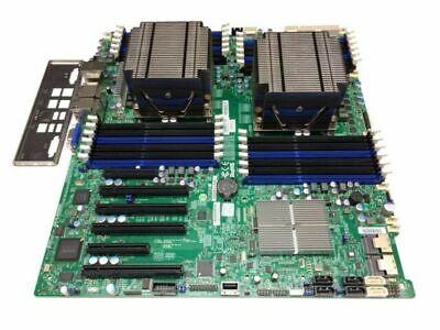 Supermicro Server Motherboard X9DR3-LN4F+ 2x E5-2620 8GB