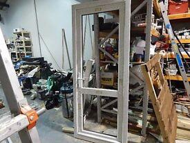 uPVC double glazed door brand new