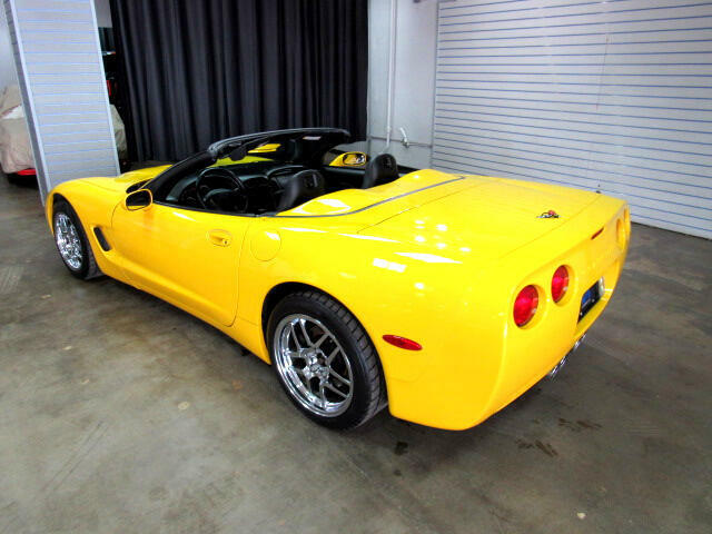 2000 Yellow Chevrolet Corvette Convertible  | C5 Corvette Photo 4