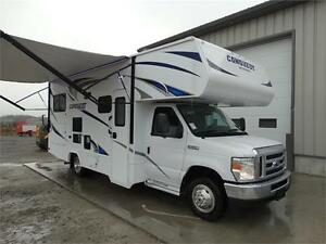 24 foot Class C Motorhome with Slideout and Luxury Package!