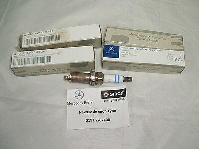 4x Mercedes A-Class W168 A 210 Variant2 Genuine Bosch Super Plus Spark Plugs