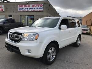 2011 Honda Pilot EX-L, LEATHER, 8 PASSENGER, BACK UP CAM