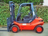 Linde H40D Diesel Counterbalance forklift truck. Hyster Toyota Diesel