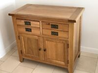 Lovely solid Oak cupboards. Excellent condition. Four available.