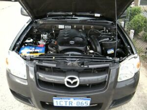 2008 Mazda BT-50 B2500 DX Black 5 Speed Manual Cab Chassis Wangara Wanneroo Area Preview