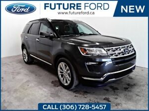 2018 Ford Explorer Limited|20ALUMINUM WHEELS|TRAILER TOW|2ND ROW