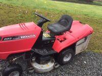 Honda 2213 ride on mower spares or repair
