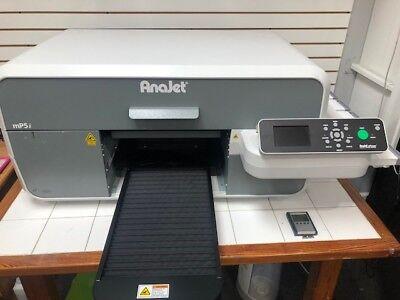 Anajet Mp5i Direct To Garment Printer
