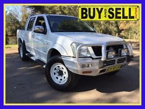 2004 Holden Rodeo RA LX White 4 Speed Automatic Crewcab Lansvale Liverpool Area Preview