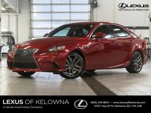 2015 Lexus IS 350 F Sport Series 2 w/ Blind Spot Monitor