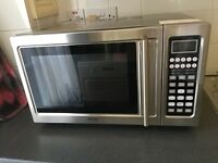 Hinari Stainless Steel 900W Microwave-Oven-Convection-Grill-Combination With Touch Control