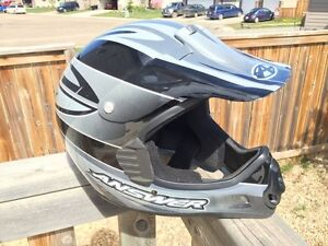 Several Full Face Bike Helmets - Bicycle