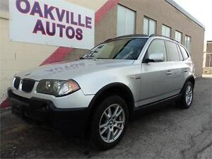 2006 BMW X3 2.5i- very clean