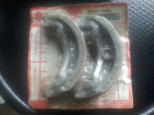 break shoes for 73-77 suzuki rv125cc genuine suzuki part