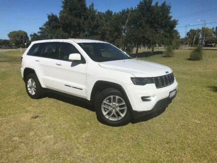 2017 Jeep Grand Cherokee WK MY17 Laredo 4x2 White 8 Speed Sports Automatic Wagon