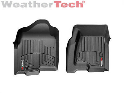Weathertech Custom Car Truck Floor Mats Floorliner 440031   1St Row   Black