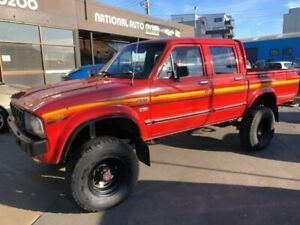 1983 Toyota Hilux Red 4 Speed Manual Dual Cab Pick-up