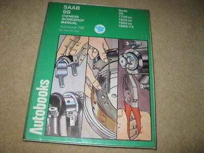 Autobooks Owners Workshop Manual Saab 99 (similar Haynes)