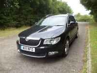 2011 - Skoda Superb 2.0 TDI CR Elegance - Leather-170 - DSG - Automatic - Estate - Full S/History