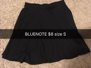 Bluenote black simple skirt