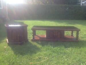 Coffee & center table for sale