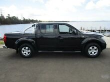 2011 Nissan Navara D40 ST (4x4) Black 6 Speed Manual Dual Cab Pick-up Dapto Wollongong Area Preview