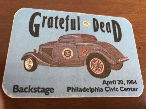 Grateful Dead - April 20, 1984 - Civic Center Philadelphia - backstage pass