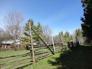 1/2 Acre 12' Tall Fenced Area for Rent in Formosa -Monthly Rent Kitchener / Waterloo Kitchener Area image 9