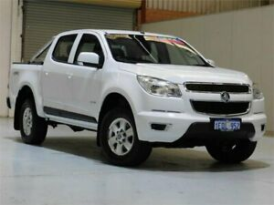 2014 Holden Colorado RG MY15 LT Crew Cab White 6 Speed Manual Utility