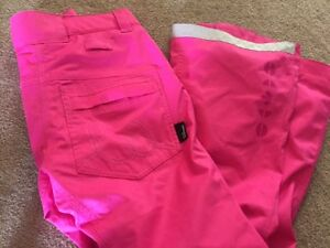 Hot pink Westbeach snowboard pants BARELY WORN
