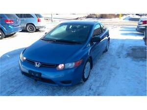 "2007 Honda Civic Cpe DX-G""NEW SAFETY""Clean Vehicle.REMOTE START"