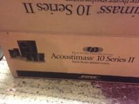 BOSE Acoustimass 10 Series II speakers and sub Boxed