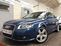 Audi A4 2.0 TDI S Line 4dr RS4 SPRINT BLUE ++ 12m MOT